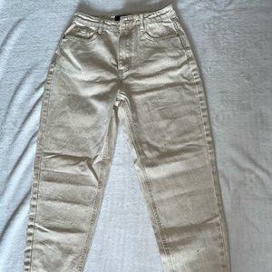 BNWT Petite High Waisted Mom Jeans